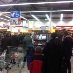 Photo taken at Kaufland by VetFinder on 12/31/2012