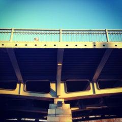 Photo taken at Ушаковский мост by Tigra✨ on 11/13/2012