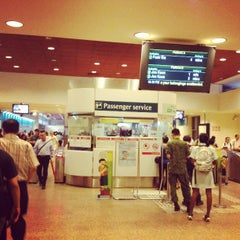 Photo taken at Tampines MRT Station (EW2/DT32) by Syamsid D. on 4/15/2013
