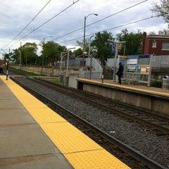 Photo taken at MetroLink - Delmar Loop Station by Emily C. on 5/17/2014