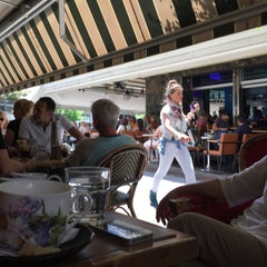 Photo taken at Filion Cafe by John D. on 6/3/2015