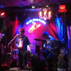 Photo taken at Blue Jean Blues Jazz Club by Marly Q. on 12/5/2012