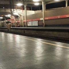 Photo taken at Estação Jaboatão (CBTU/Metrorec) by Ebson G. on 3/8/2014