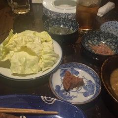 Photo taken at 焼とり 仙壱屋 by Kazuki W. on 2/28/2015