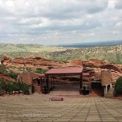Photo taken at Red Rocks Park & Amphitheatre by Alex K. on 7/14/2013