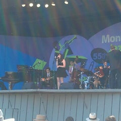Photo taken at Monterey Jazz Festival @ Monterey Fairgrounds by Dave t. on 9/23/2012