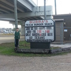 Photo taken at Bubba's Texas Burger Shack by Laura B. on 12/28/2012