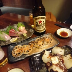 Photo taken at 鶏と魚が旨い店 Uo 魚 西船橋店 by Schulze on 3/26/2015
