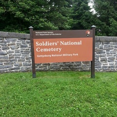Photo taken at Soldiers' National Cemetery by Lisa B. on 6/12/2013