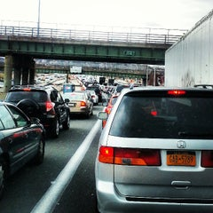 Photo taken at Interstate 278 (Staten Island Expy) by Jason W. on 3/28/2013