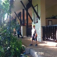 Photo taken at Timber House Resort Krabi by abu a. on 10/27/2012