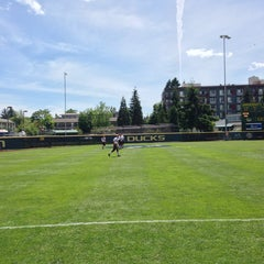 Photo taken at Howe Field by Garrett W. on 5/25/2014