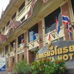 Photo taken at โรงแรมอโยธยา (Ayothaya Hotel) by โรงแรมอโยธยา (Ayothaya Hotel) on 3/8/2014