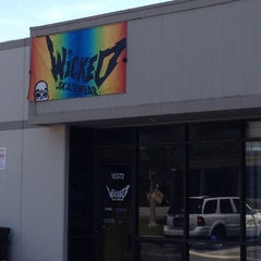 Photo taken at Wicked Skatewear by Melissa L. on 7/4/2013