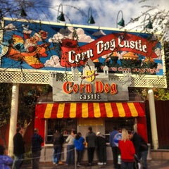 Photo taken at Corn Dog Castle by Eric C. on 1/28/2013