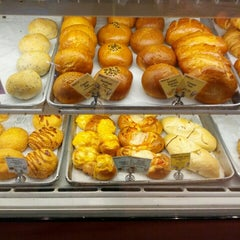 Photo taken at Panya Bakery by Tudor L. on 1/27/2013