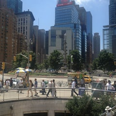 Photo taken at Columbus Circle by Troy W. on 7/5/2013