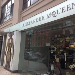 Photo taken at Alexander McQueen by Ashley W. on 6/8/2013
