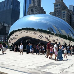 Photo taken at Millennium Park by Andy G. on 7/21/2013