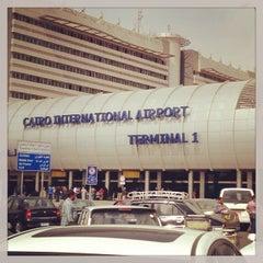 Photo taken at Cairo International Airport (CAI) by IKENAGA M. on 3/3/2013