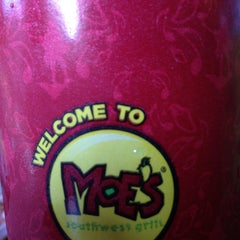 Photo taken at Moe's Southwest Grill by Rogerio M. on 12/30/2012