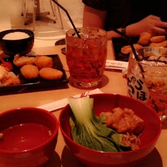 Photo taken at Chubo-Chubo Gourmet Japanese Resto by Chikachuu on 3/8/2014