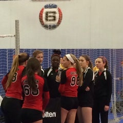 Photo taken at Great Lakes Volleyball Center by Monique T. on 2/9/2014