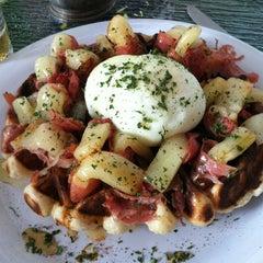 Photo taken at Waffle Era Tea Room by Jonathan J. on 9/30/2012
