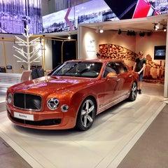 Photo taken at Bugatti   Automobil Forum Unter den Linden by Alena A. on 7/22/2015
