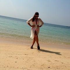 Photo taken at Sabai beach resort by Maria Z. on 1/17/2015