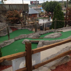 Photo taken at Professor Hackers Lost Treasure Golf by Bryan on 7/19/2014