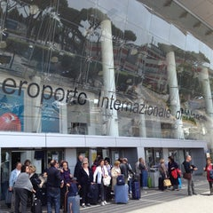 "Photo taken at Aeroporto Internazionale di Napoli Capodichino ""Ugo Niutta"" (NAP) by Ahmet K. on 4/28/2013"