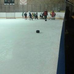 Photo taken at Talsu hokeja klubs (Talsi Ice Hockey club) by Marta V. on 12/4/2014