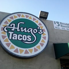 Photo taken at Hugo's Tacos by Lou T. on 6/4/2013