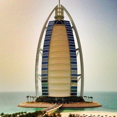 Photo taken at Burj Al Arab by SingleMan P. on 5/9/2013