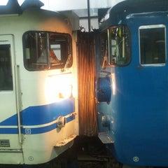 Photo taken at 東金沢駅 (Higashi-Kanazawa Sta.) by DRS@金サワ on 9/22/2014
