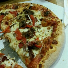 Photo taken at Domino's Pizza by Salih E. on 5/2/2015