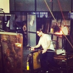 Photo taken at Third Degree Glass Factory by Chandrika C. on 10/25/2014