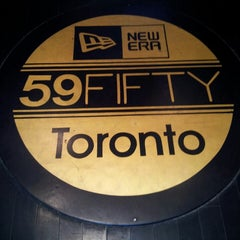 Photo taken at New Era Flagship Store: Toronto by alex m. on 7/23/2013