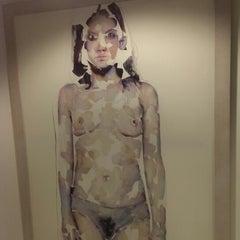 Photo taken at Augartenhotel - Art & Design by Olga B. on 12/29/2013