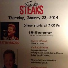 Photo taken at Frank's Steaks by Valerie V. on 12/22/2013