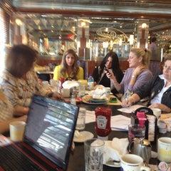 Photo taken at On Parade Diner by Valerie V. on 10/9/2012