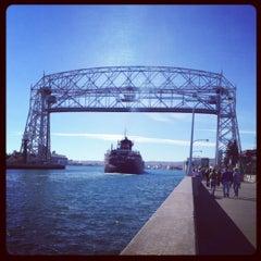 Photo taken at Duluth Lift Bridge by Julie B. on 10/13/2012