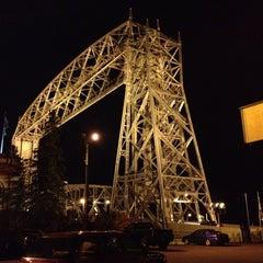 Photo taken at Duluth Lift Bridge by Julie B. on 10/16/2012