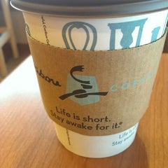 Photo taken at Caribou Coffee by Tiffany L. on 3/20/2014