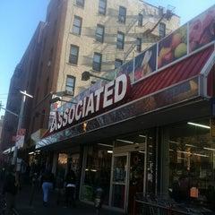 Photo taken at Associated Supermarket by Porfirio P. on 11/21/2012