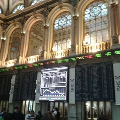 Photo taken at Bolsa de Madrid by Sandra M. on 12/19/2012