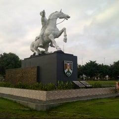 Photo taken at Alun - Alun Kota Magelang by Nurdin Y. on 12/27/2012