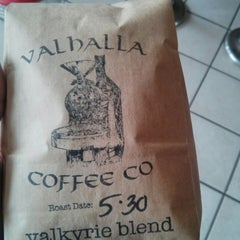 Photo taken at Valhalla Coffee Roasters by Drew J. on 6/3/2014