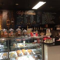 Photo taken at Cafe Monsu by Greg O. on 9/29/2014